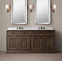 Montpellier Double Vanity Sink