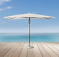Tuuci 174 Rectangular Ocean Master Aluma Teak Umbrella
