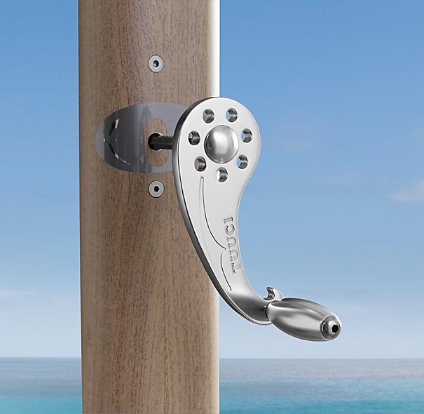 Restoration Hardware Warranty: 10' Tuuci® Ocean Master Max Cantilever Square Aluma-Teak
