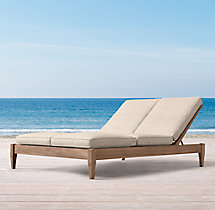 Santa Monica Double Chaise Cushions