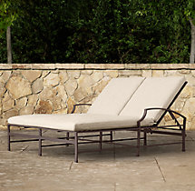 Carmel Double Chaise Cushions