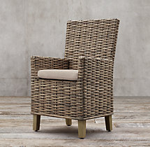 Antilles Rattan Armchair Cushion