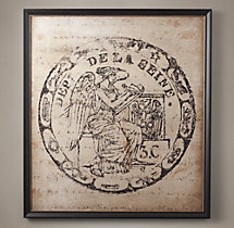 18Th C. European Document Seal Large - 6