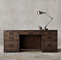 Heirloom Silver-Chest Desk