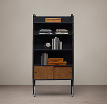 1950s Modular 3-Shelf Desk System