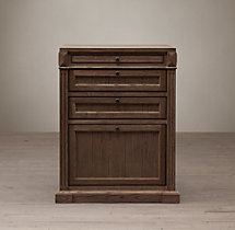 Library System 3-Drawer File Cabinet
