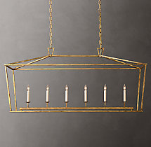 19th C. English Openwork Linear Pendant