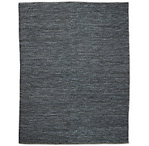 Braided Wool Rug - Marine