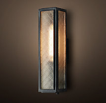 Union Filament Wire Glass Short Sconce