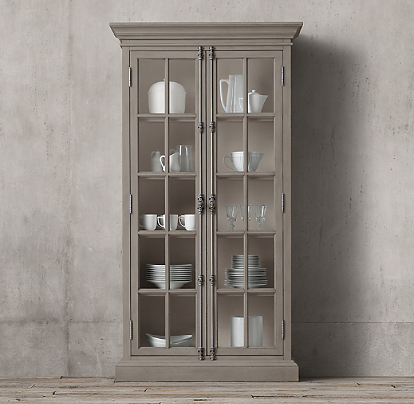French Casement Double Door Cabinet