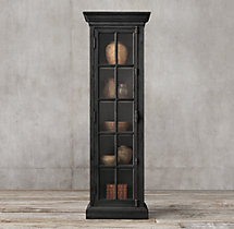 French Casement Single-Door Cabinet