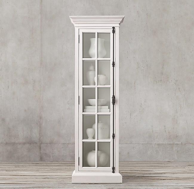 French Casement Single Door Cabinet