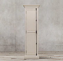 French Panel Single-Door Cabinet