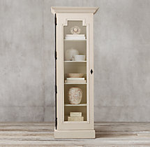Montpellier Glass Single-Door Cabinet