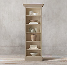 Montpellier Panel Narrow Single Shelving
