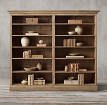 Montpellier Panel Double Shelving