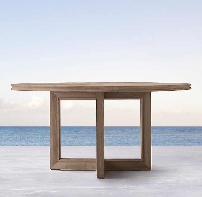 Costa Teak Round Dining Table