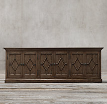 Georgian Fretwork Panel Sideboard