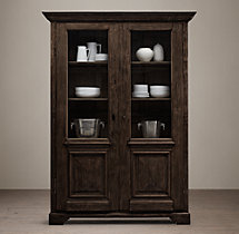 18th C. French Baroque Double-Door Cabinet