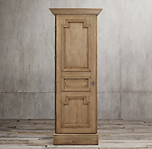 Montpellier Panel Single-Door Cabinet