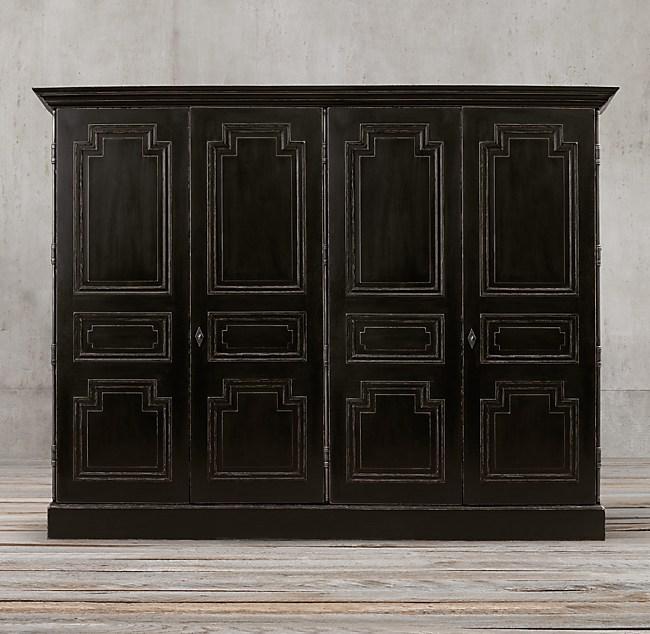 Montpellier panel 4 door cabinet for Door 4 montpellier walk