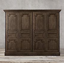 montpellier panel 4 door cabinet