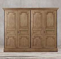 montpellier panel 4 door cabinet