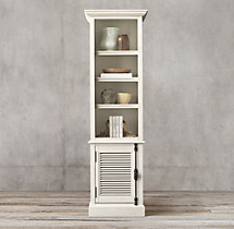 Shutter Single-Door Sideboard & Open Hutch