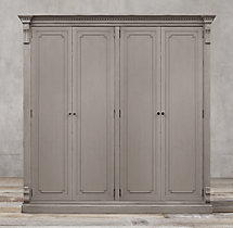 St. James Panel 4-Door Cabinet