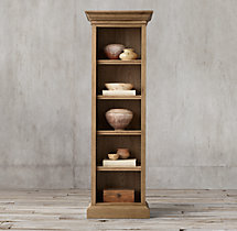 French Panel Narrow Single Shelving