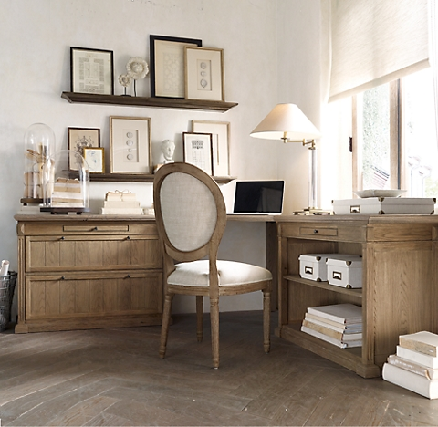 desks restoration hardware