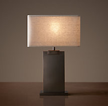 Rectangular Column Accent Lamp