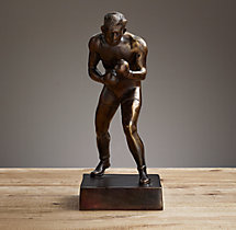 Bronze Boxer Large