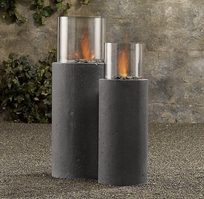 Laguna Concrete Ventless Fire Column