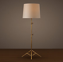 Photographer's Telescoping Floor Lamp