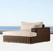 Majorca Luxe Left/Right-Arm Chaise Cushion