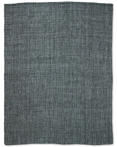 Looped Basket Weave Rug - Marine
