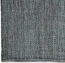 Rope Basket Weave Rug Swatch - Marine