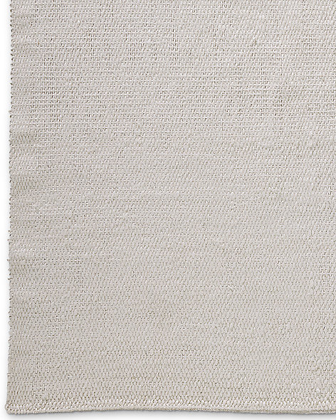 Rope Basket Weave Rug - White