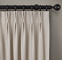 Perennials® Canvas Drapery - French Pleat
