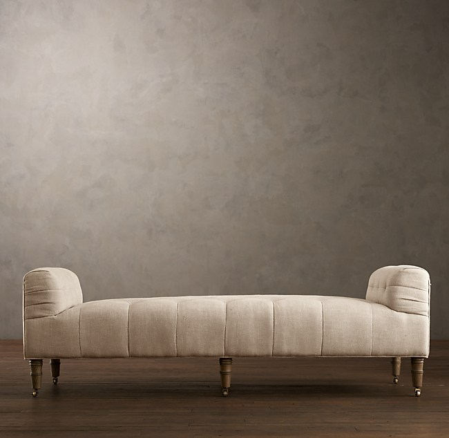 Camille Tufted Settee - Tufted Settee