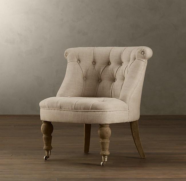 Best Sophie Tufted Slipper Chair LG45