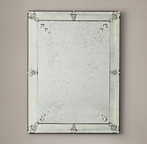 19th C. French Layered Glass Mirror