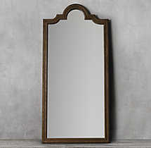 Levico Leaner Mirror - Brown