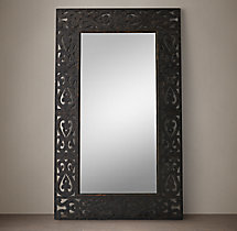 17Th C. Spanish Arabesque Mirror