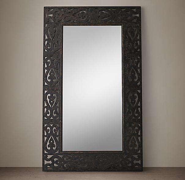 17Th C. Spanish Arabesque Mirror