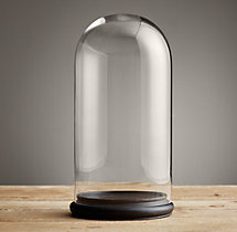 Petite Glass Cloches - Extra-Large