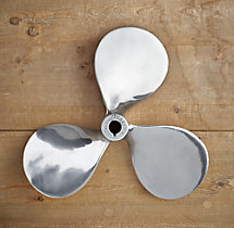 Boat Propeller - Polished Nickel