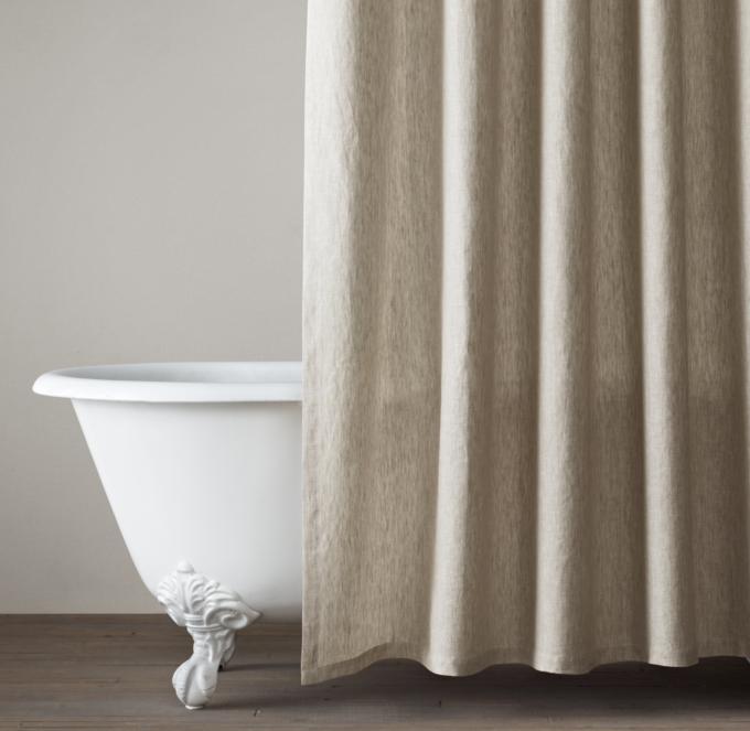 Shower Curtains RH Modern