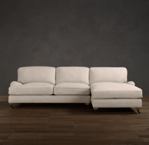 Roll Arm RightArm Sofa Chaise Sectional